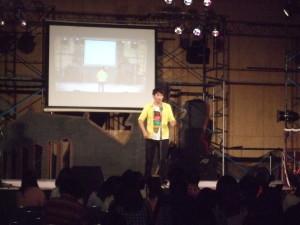 学園祭・学校行事にも芸人が出演しています。