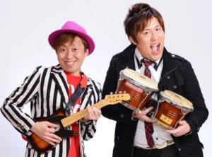 名古屋のトップお笑い芸人ロコモコボンゴ