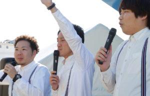 名古屋芸人ピカソが企業イベントに出演